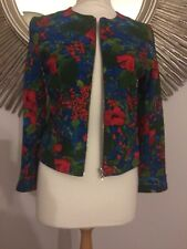 d069f8059d1 New listingzara floral jacket S Nwot