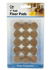"48pc 1"" Self Stick Round Felt Pads Self Adhesive Stick Furniture Floor Protector"