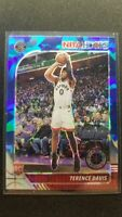2019-20 Hoops Premium Stock Terence Davis Blue Cracked Ice RC #257