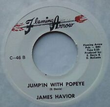 """Funk Soul 60s/70s Soul 7""""-James Havior/Corzette Holly-Jumpin With Popeye-Flaming"""