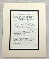 1821 Antique Print Ancient Greek Script Greece Classical Antiquity Old Engraving