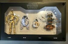 """Star Wars Galaxy's Edge The Black Series 6"""" Droid Depot 4-Pack Disney Exclusive!"""