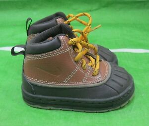 NIKE WOODSIDE BRITISH TAN BROWN ACG BOOTS LITTLE  415080-200 TODDLER SIZE 3 C