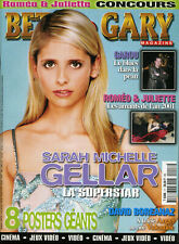 Magazine BETSY & GARY n°17, BUFFY,  ROSWELL, ANGEL, ROMEO & JULIETTE, GAROU