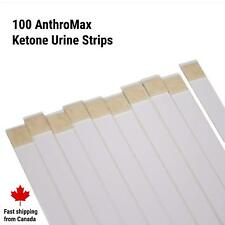 AnthroMax Ketone Keto Test Strips - Prof. Grade Testing For Ketogenic Diets