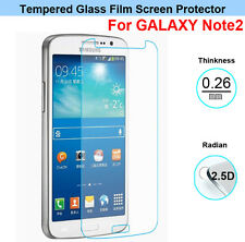 Real Premium Tempered Glass Screen Protector For  Samsung Galaxy Note 2 II N7100
