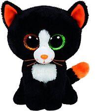 Ty Frights Katze schwarz 15cm Stofftier Plüschtier Kuscheltier Spielzeug