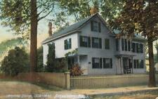 Antique POSTCARD c1907 Whittier Home AMESBURY, MA MASS. 19214