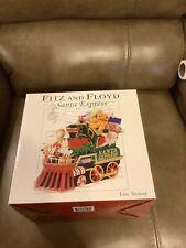 "FITZ AND FLOYD SANTA EXPRESS CHRISTMAS TRAIN MUSIC BOX (PLAYS ""TOYLAND"")"