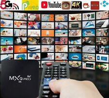 TV BOX 4GB ram 32GB android 10 wifi internet smart tv full hd