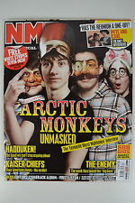 ARCTIC MONKEYS NME MAGAZINE 28th ARIL 2007 UNREAD FAVOURITE WORST NIGHTMARE INT