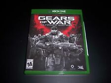 Replacement Case (NO GAME) GEARS OF WAR ULTIMATE EDITION XBOX ONE 1 Original Box