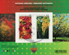 Canada 2003 National Emblems Souvenir Sheet, #2001b Used