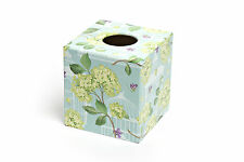 Bird Cage Tissue Box Cover wooden decoupaged handmade