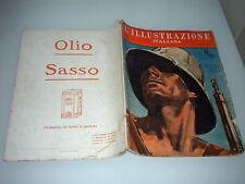 L'ILLUSTRAZIONE ITALIANA NUMERO DEDICATO ALL'AFRICA ORIENTALE 20 OTTOBRE 1935