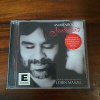Sentimento by Lorin Maazel (Conductor)/Andrea Bocelli (CD, Nov-2002, Philips)
