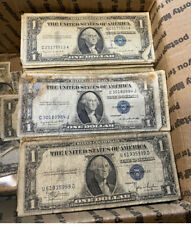 BULK Lot (50) 1957 1935 $1 Dollar US Note Silver Certificate Collection $50 Cull