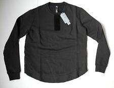 damir doma dark blue SYLAR TERRY CLOTH PATCH HARNESS sweatshirt L NEW silent