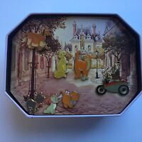 DS - Aristocats Commemorative Tin Set 7 Pins Disney Pin 5760