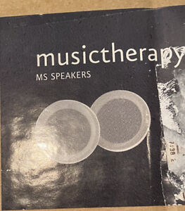 Mr.steam Musictherapy MS SPEAKERS (Pair) Open box