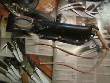 PUMA Messerscheide für White Hunter PUMA Messer -70  er Jahre. Solingen Germany.