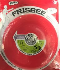 Wham-O Vintage Style Frisbee Disc RED 90g Reproduced in 2017