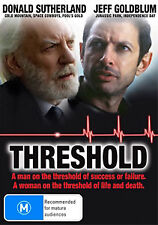 Jeff Goldblum Donald Sutherland Threshold - Medical Drama DVD