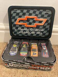 Chevrolet 400 NASCAR WINS SET  Die-cast 4 CAR SET - Adult Collectible Limited Ed
