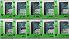 "10 x BELKIN TrueClear Screen Protectors Samsung GalaxyTab2 + Note 10.1"" [04]"