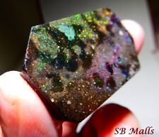 80 Cts. HONDURAS BLACK MATRIX HONDURAN OPAL RUB ROUGH LOT 2236