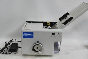Accufast AF2 Paper Folder/Folding Machine - Letter Folder  - SOLD AS IS