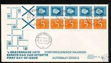 FDC met postzegelboekje 19, Philato, blanco/open