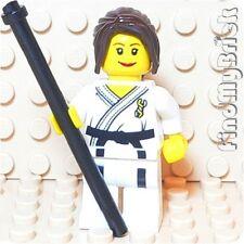 M659 Lego Custom Minifigure - Karate Girl Master with Black Cane NEW