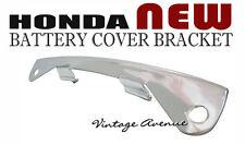 HONDA CHALY CF50 CF70 BATTERY COVER BRACKET *CHROME*
