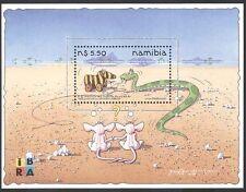 Namibia 1999 iBRA/Toy Zebra/Snake/Rats/Animation/Cartoons 1v m/s (n16642)