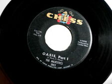 MAJESTICS~OASIS~PART1~VG+~MAD MIKE  SOUND~CHESS 1802~PART 2 ~ INSTRUMENTAL 45