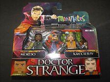 DOCTOR STRANGE MORDO and KAECILIUS 2 MARVEL MINIMATES FIGURES NEW SEALED