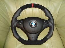 TUNING Lederlenkrad BMW E90 E91 E92 E93 E81 E82 E8 7UNTEN ABGEFLACHT Lenkrad(A4)