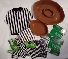 Football Referee Tailgate Party Snack Tray Decorations Drink Holders Napkins