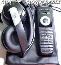 2010 2011 Mercedes GLK350 GLK-Class Car Entertainment DVD Remote & Headphone