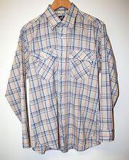 Levi's Check Shirt Size L Beige