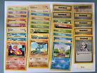 Pokemon 1999 Base Set, 1st Edition, & Other WofC Vintage Sets! Choose Your Card