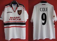 maglia Vintage Manchester United UMBRO Cole No. 9 Sharp maglia - L