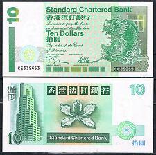 HONG KONG - SCB  10 DOLARES 1995   SC  UNC