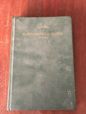 A History of the First Century of the Town of Parsonsfield Maine ME