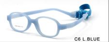 Foldable Glasses Full Rim Frame Eyeglasses with Strip for Baby