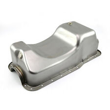 fits Ford SB 289 302 Windsor Fox Body Dual Sump Unplated Oil Pan