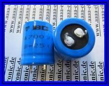 VISHAY Elko Kondensator 4700 µF 25 V 25 x 31 mm 2 Stück
