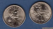 Etats Unis USA One $ 1 Dollar Jim Thorpe 2018 D Native American