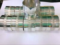 "Malmaison by Christofle Sterling Silver Napkin Ring. 1 1/8"" Wide. GREAT DEAL!!"